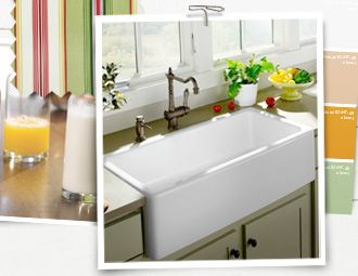 I pinned this from the Style Study - The Country Kitchen event at Joss and Main!: Garden Sheds, Basin Sinks, Gardens Sheds Reminder, Big Sinks, Farmers Sinks, Country Sinks, Farms Sinks, Farmhouse Sinks, Kitchens Sinks