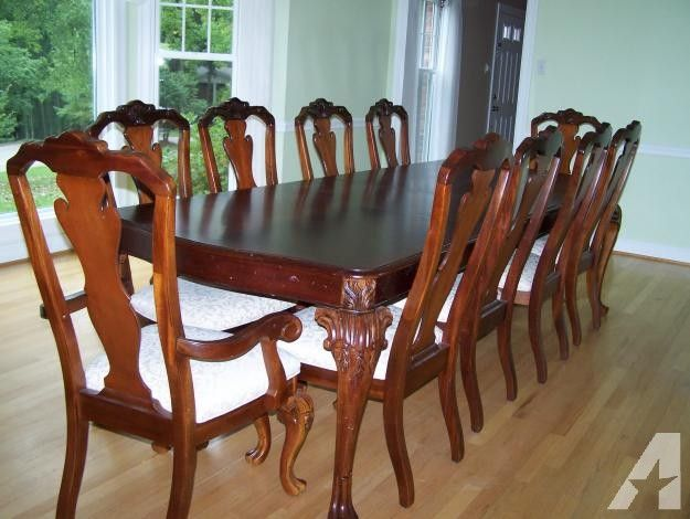 Thomasville Dining Room Set With Smart Design For Home Decorators Furniture Quality 6