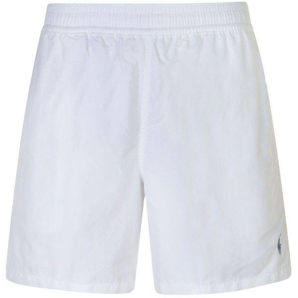 POLO RALPH LAUREN Hawaiian Swim Shorts (€63) ❤ liked on Polyvore featuring polo ralph lauren