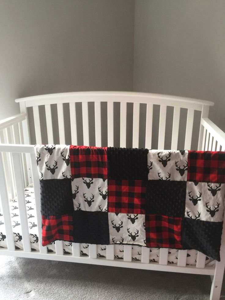 Plaid Baby Boy Bedding Sets