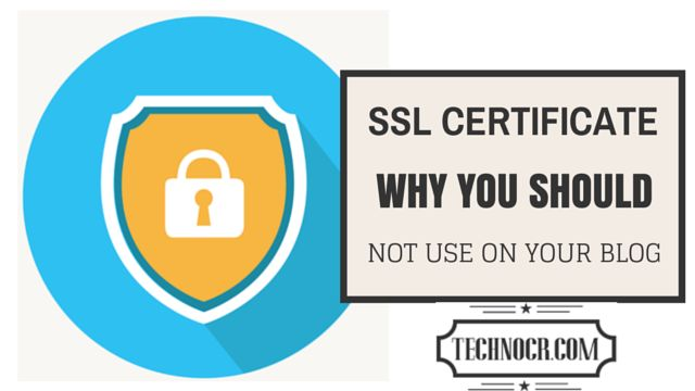 Blog post at TechnoCR : Hello Guys, How is the new year is coming for you. Today I have a debate with myself on should I use an SSL certificate for my site or not. [..]
