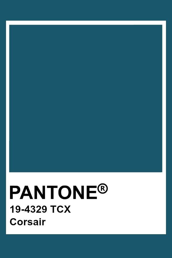 Pantone Corsair | Pantone Fashion & Home TCX Colors in 2019