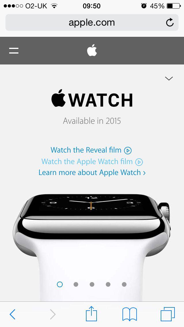 #Apple watch #carousel