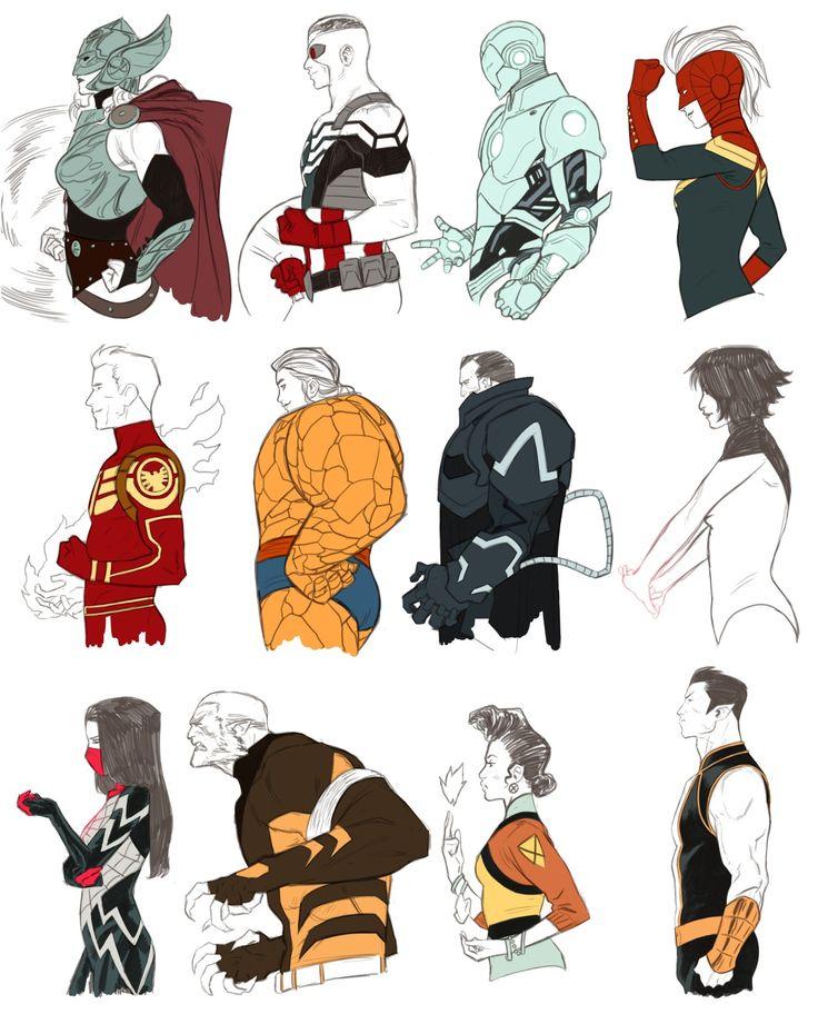 Thor, Captain America, Superior Iron Man, Captain Marvel Jim Hammond, Darla Deering, Evan Sabahnur, Spectrum Silk, Sabretooth, Oya, Namor