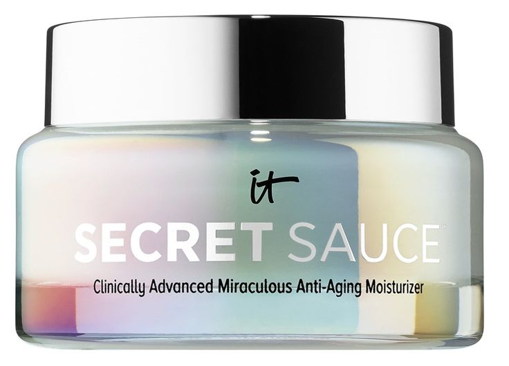 The top secret It Cosmetics skincare product everyone has been hyping up has been announced and it's called Secret Sauce Clinically Advanced Miraculous Ant