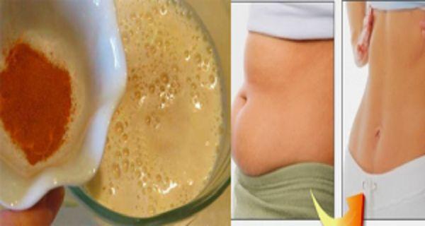 Perdez du poids rapidement et sainement, grâce à cette boisson naturelle au miel et à la cannelle.