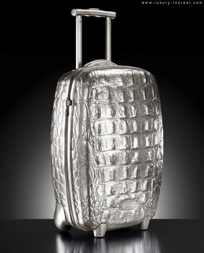 Samsonite luggage by Alexander McQueen
