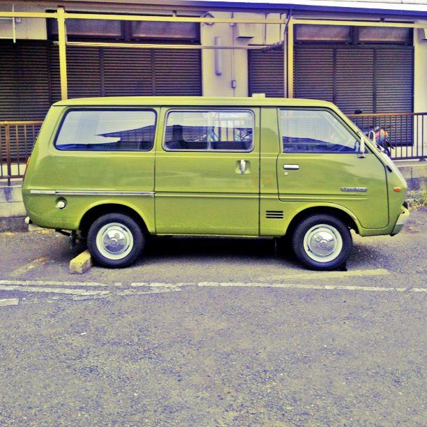 old Toyota van