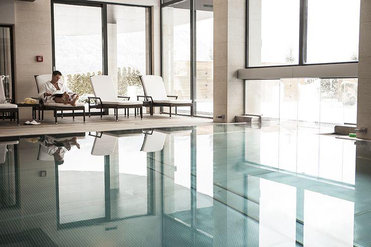 Viel Ruhe & #Entspannung finden Sie im 1200 m² großen #Wellnessbereich vom Hotel Sonnhof im Salzburger Land. Ein Kurzurlaub zum Entspannen.