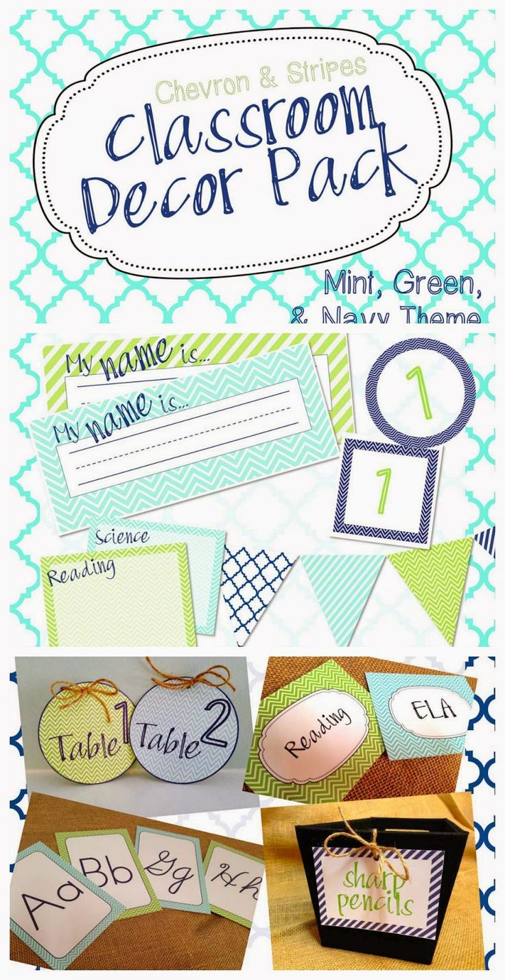 This is a huge pack of decor resources for your classroom! It includes a predesigned pack with filled in labels, as well as an editable powerpoint where you can add your own text and fonts to the banner, labels, and even type in student names on name plates!