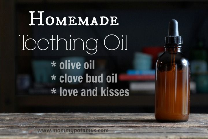 Homemade Teething Oil (That Really Works!) - The Mommypotamus