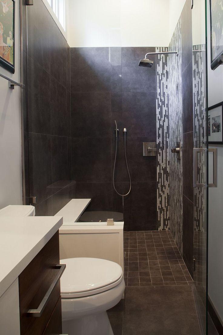Amanda Webster Design: Classic Contemporary Bathroom Interior Design / Photo: Neil Rashba