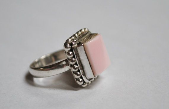 Children's Pink Conch Shell Ring Sizes 3 4 or 5 by JeanneHandmade, $32.00: Ring Sizes, 32 00, Caribbean Set, Natural Pink, Children S Pink, Rings