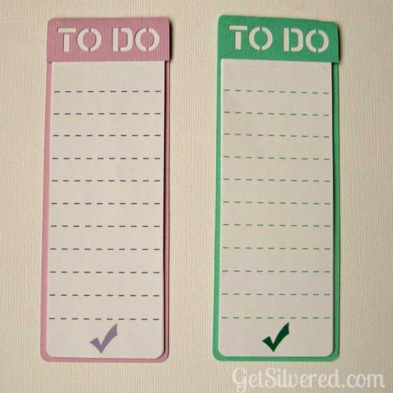 To Do List Free cut file - get silvered