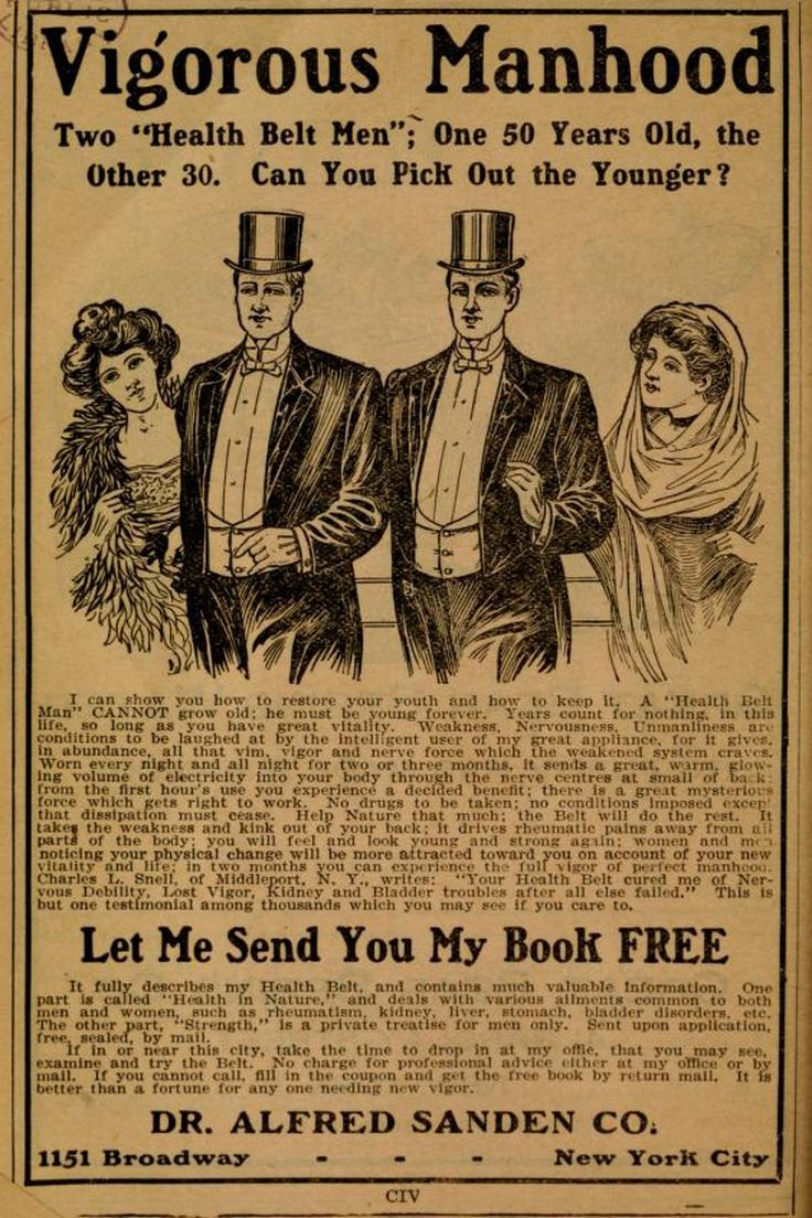 20 Crazy and Interesting Vintage Ads from the 1910 World Almanac