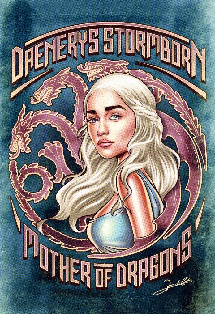 Daenerys Targaryen – Game Of Thrones