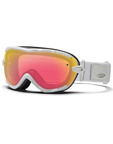 smith ski goggles   Smith Optics Womens Virtue Ski Goggle - White Danger   Simply Piste UK