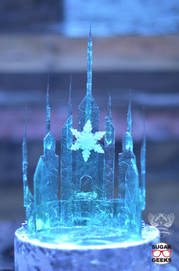 castillo de hielo elsa frozen