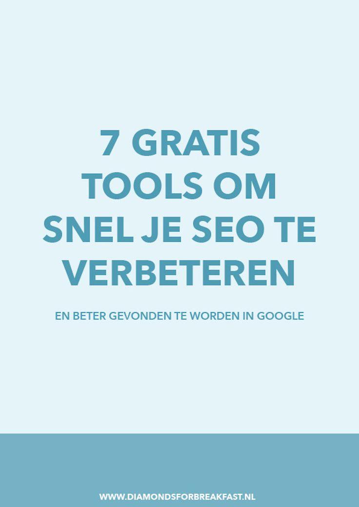 Wanneer je meer bezoekers naar je website wilt trekken, is het slim om aan je SEO te werken. Gebruik deze 7 handige, gratis tools om beter gevonden te worden in Google.
