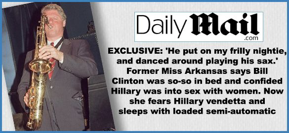 RUSH: Folks, have you seen the top story linked at Drudge? Another former girlfriend of Bill Clinton's has resurfaced... FEB 16 2016