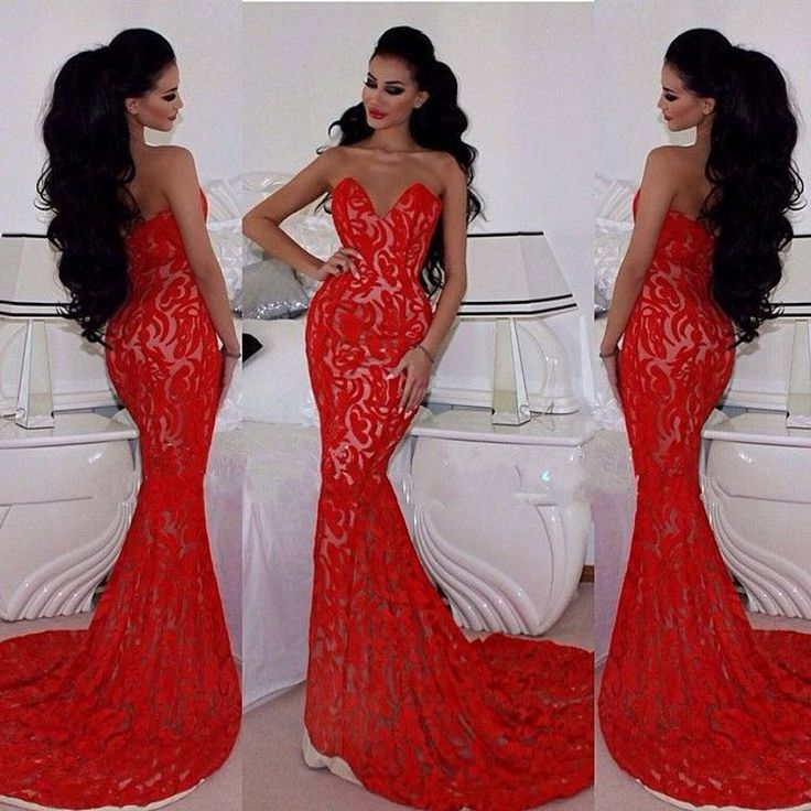 17 Best images about Red dress on Pinterest | Long prom dresses ...