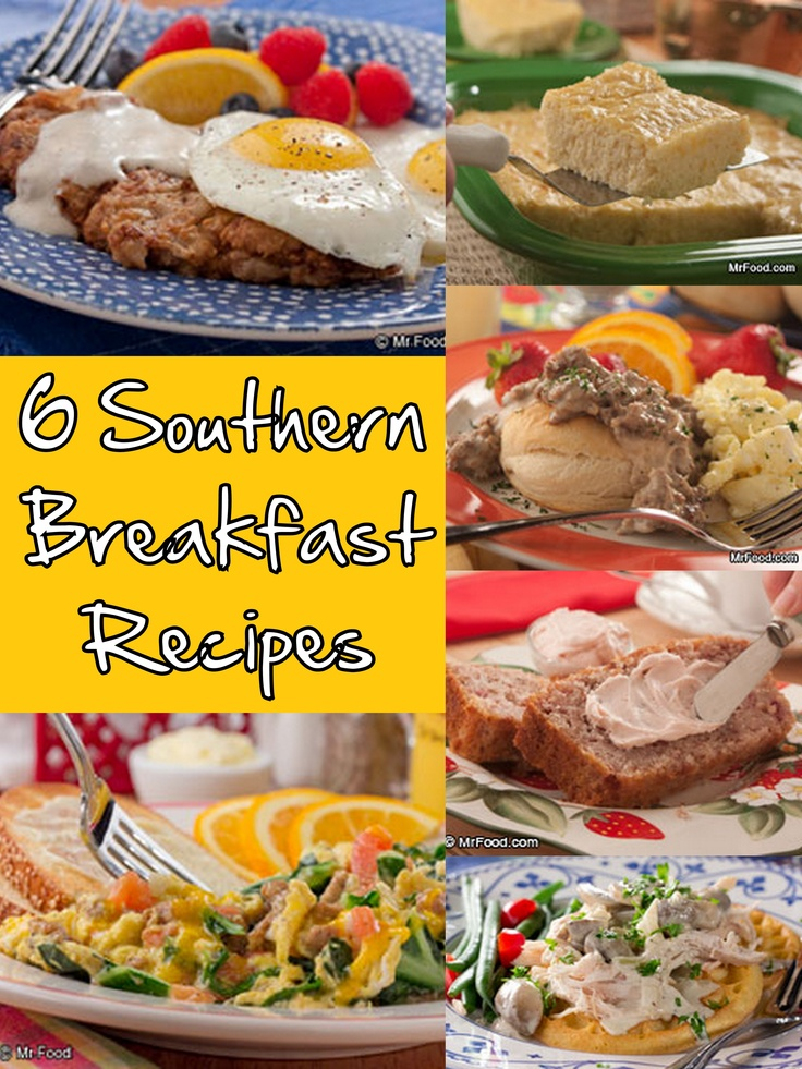 When we want breakfast done right, we always go southern! From biscuits to eggs to waffles, cook up one of these delicious southern breakfast recipes this weekend.