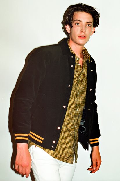 SENSE: Supreme 2012 Fall/Winter Collection Editorial.  Corduroy club jacket.  Houndstooth shirt.