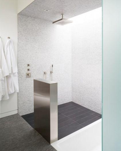 Open shower concepts .