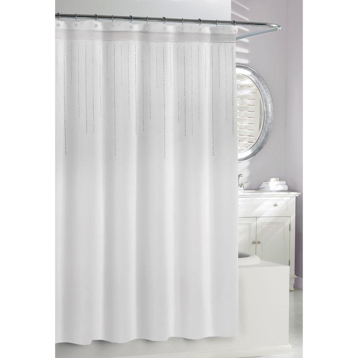 Mid Century Shower Curtain Part - 46: Kassatex Rhinestone Shower Curtain - $48.99 @hayneedle. Midcentury ...