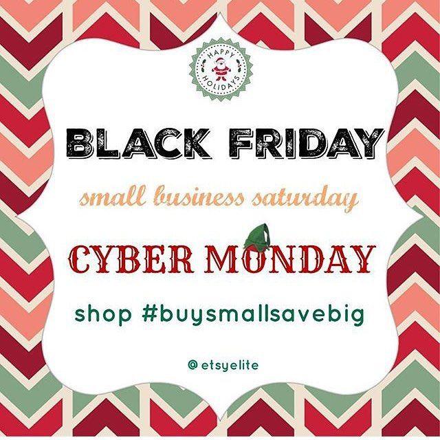 Help support small businesses! Buy handmade ! #buysmallsavebig #blackfriday #cybermonday