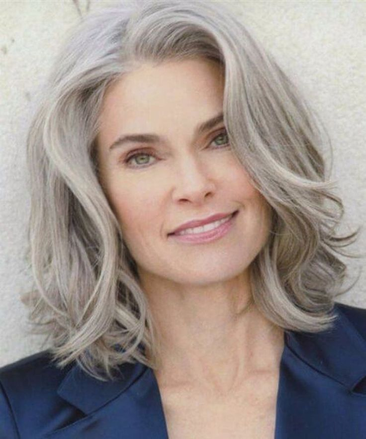 45 stunning long gray hairstyles ideas for women over 50