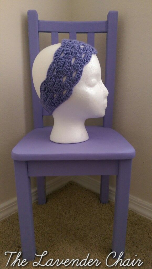 Stacked Shells Headband Pattern. FREE Crochet pattern by The Lavender Chair