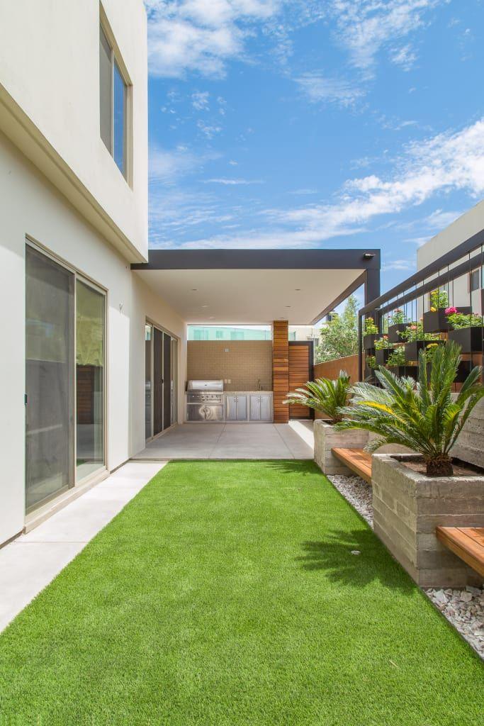 Area Exterior Caf Jardines Minimalistas De S2 Arquitectos Minimalista Homify Jardines De Casas Pequenas Jardines Para Casas Diseno De Patio