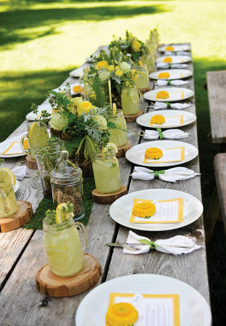 33 best images about western wedding ideas on pinterest for Patio table centerpiece ideas