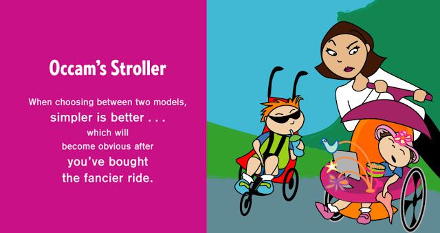 The Liebers: Occam's Stroller: Or the Story of how Parenting Makes you Dumb