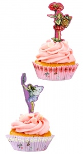Fairies Cupcake Cases and Toppers