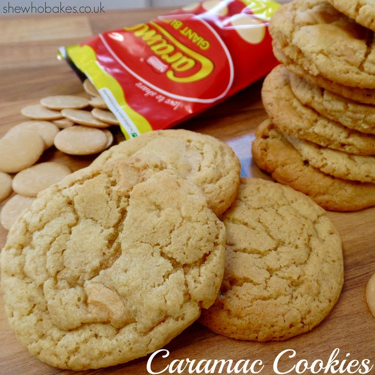 Caramac Cookies by She Who Bakes