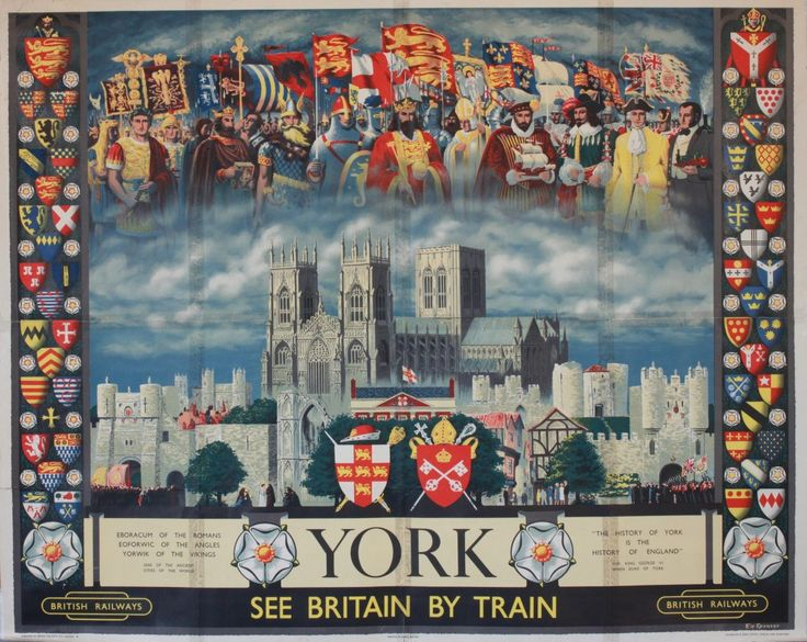 York - British Railways - 1956 - (Spencer) -