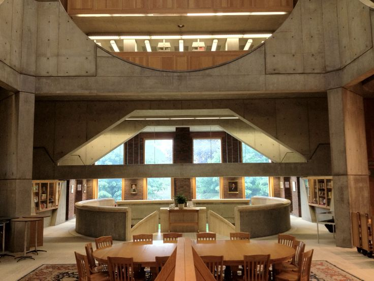 18 best images about Exeter Library, Louis Kahn. New ...