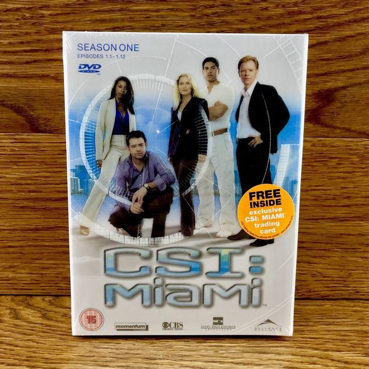 CSI Miami Complete Season One 1 Brand New Factory Sealed episodes 1.1 - 1.12