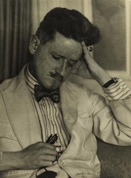 James Joyce by Berenice Abbot
