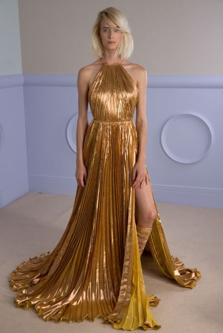 RA floor-length dress