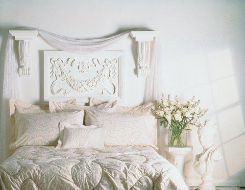 изголовье кровати из барельефа фото угловая фасадами