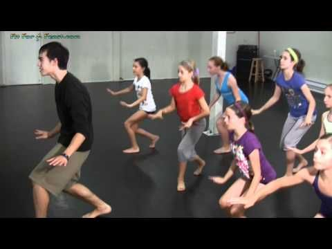 Hip Hop Dance Lesson - Contemporary Hip Hop Steps and Moves Dance Workshop