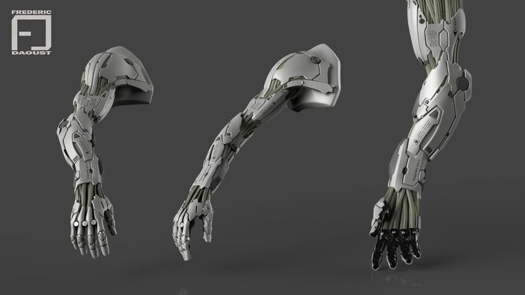 Mechanical arm, Frederic Daoust on ArtStation at http://www.artstation.com/artwork/mechanical-arm-c742824d-c9e7-4656-b87e-f57c558ade9e