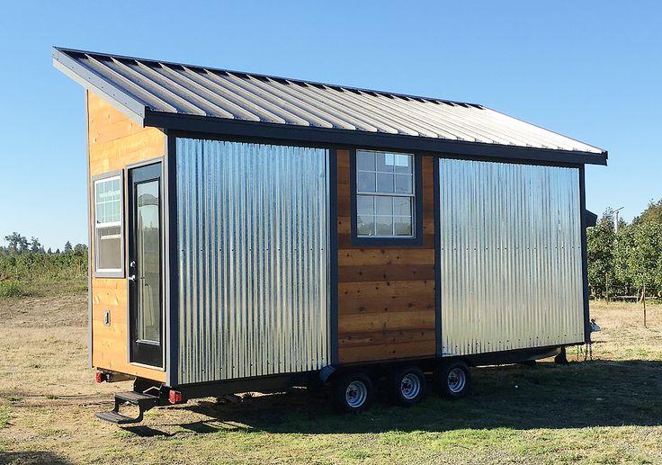 20' Rustic Modern Tiny House - Tiny House Listings