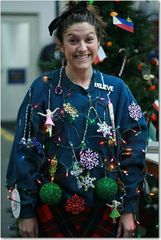 Outrageous christmas sweaters