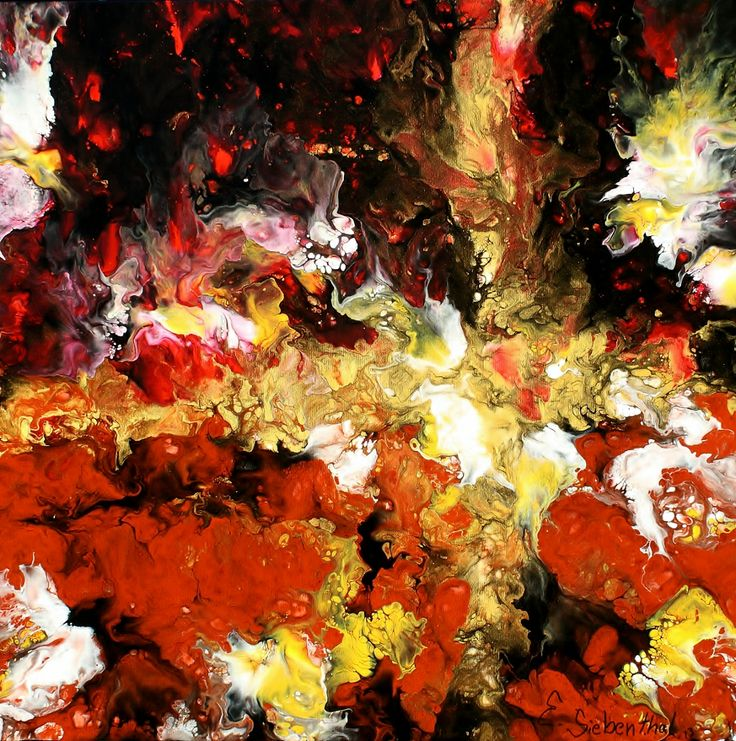 Star Crossed - Abstract Art - Acrylicmind.com is my site. Painting is a passion, an addiction that will not be easily overthrown. ~ Eric Siebenthal