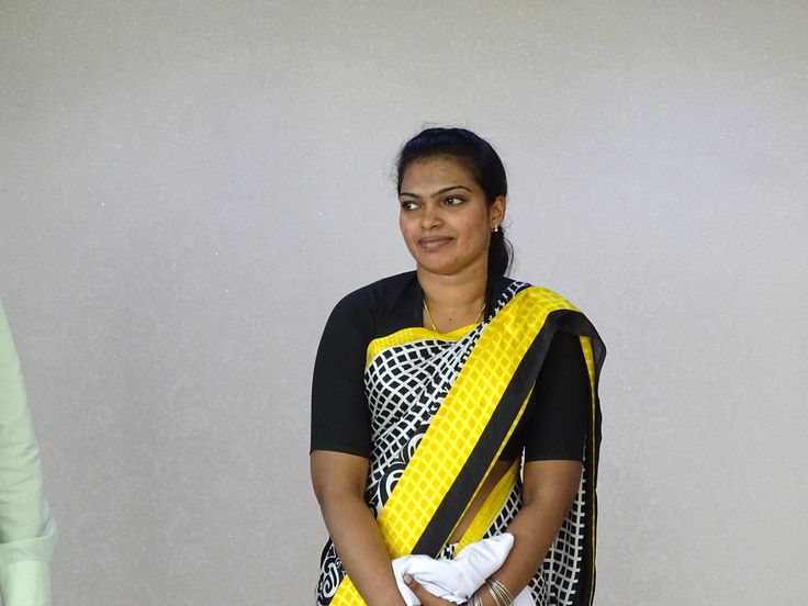 Zaposlena u klinici The Touch, Kochi, Indija, 2015/ Staff member in The Touch clinic, Kochi, India 2015