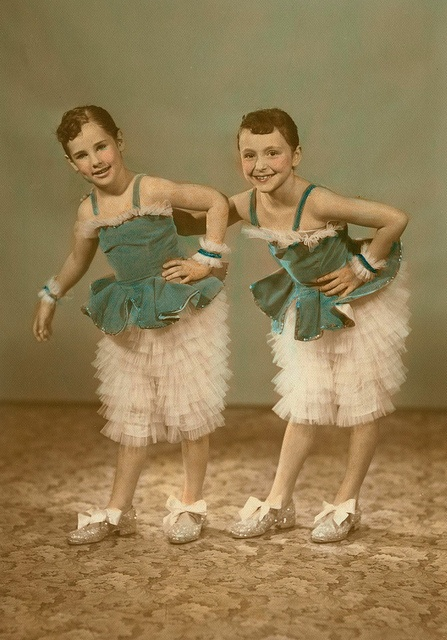 1950s dance recital